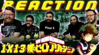 "My Hero Academia [English Dub] 1x13 REACTION!! ""In Each Of Our Hearts"" Season Finale"