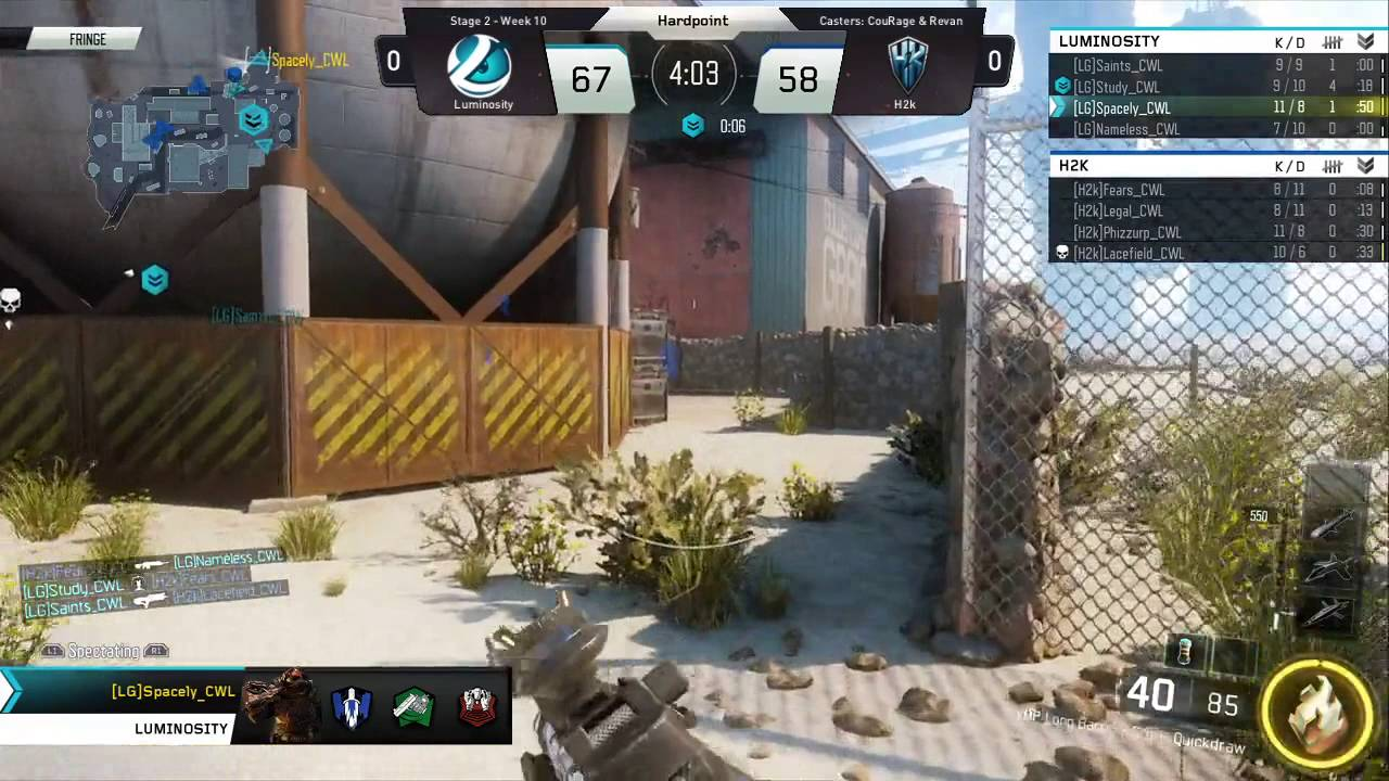 6/23 NA Pro Division H2K vs Luminosity Gaming – Call of Duty® World League
