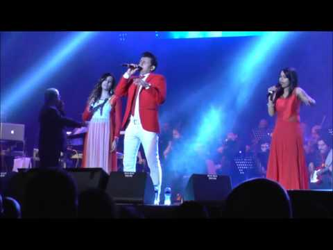 Sapna Jahan - Sonu Nigam, Teesha Nigam and Jonita Gandhi live in the Netherlands