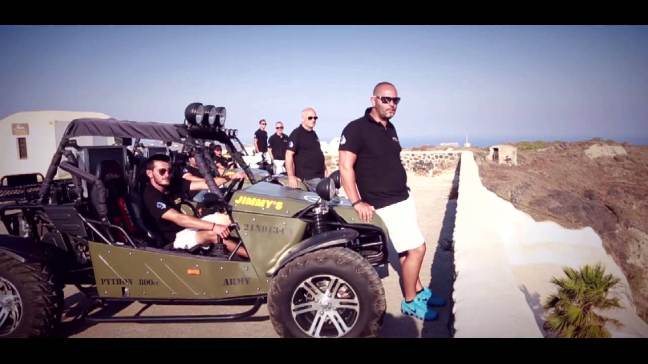 JIMMYS Rent A Car Santorini YouTube - Cool cars santorini