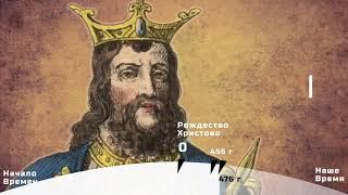 Западная Европа в 5-9 веке. История 6 класс