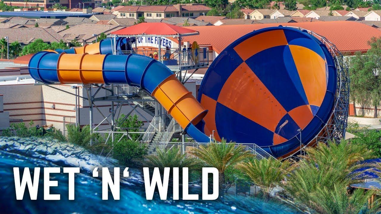 ALL WATER SLIDES at Wet 'n' Wild Las Vegas! (GoPro)