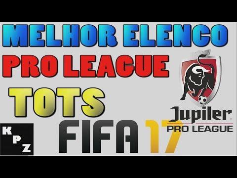 SQUAD BUILDER MELHOR ELENCO PRO LEAGUE COM TOTS - FIFA 17 Liga Belga