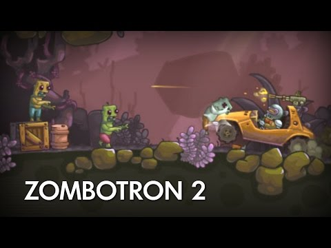 Прохождение игры про ЗОМБИ [#3 Halloween Edition] ЗОМБОТРОН 2 | Zombotron 2: Time Machine Летсплей