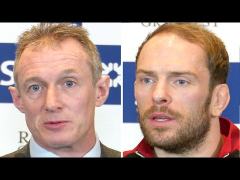 Wales Rugby Six Nations 2017 Press Conference