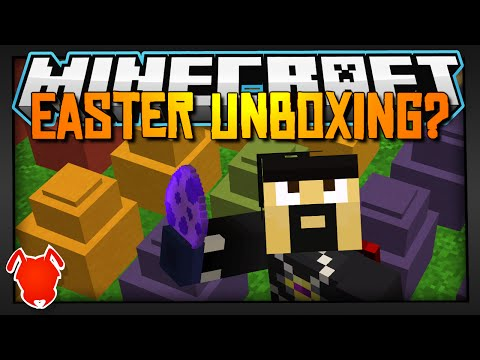 Minecraft / EASTER EGG UNBOXING?! / One Command Block!
