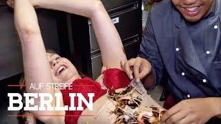 Fisch im Schritt! Er belegt sie wie eine Pizza! | Auf Streife - Berlin | SAT.1 TV