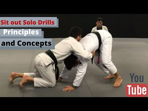 The Sit out Solo Drills: Principles and Concepts by Cobrinha
