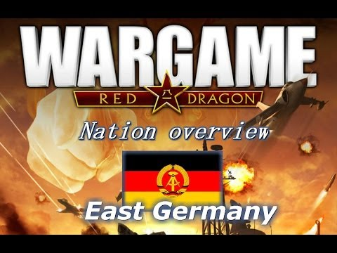 Red Dragon Nations: East Germany deck overview