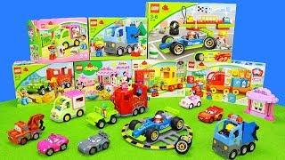 Lego Duplo Spielzeugset Unboxing Film Für Kinder Mit Feuerwehrauto, Müllauto & Rennautos Cars