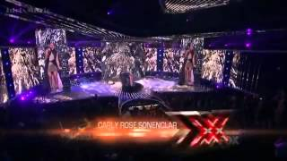 Carly Rose Sonenclar - It Will Rain - The X Factor USA 2012 (Live Show 2)