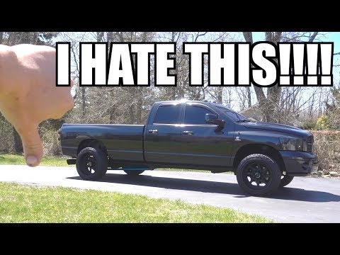 5 Things I HATE about this CUMMINS TRUCK!!!!