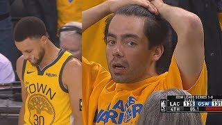 Warriors Embarrassing 31 Point Lead Choke vs Clippers - Game 2 | 2019 NBA Playoffs