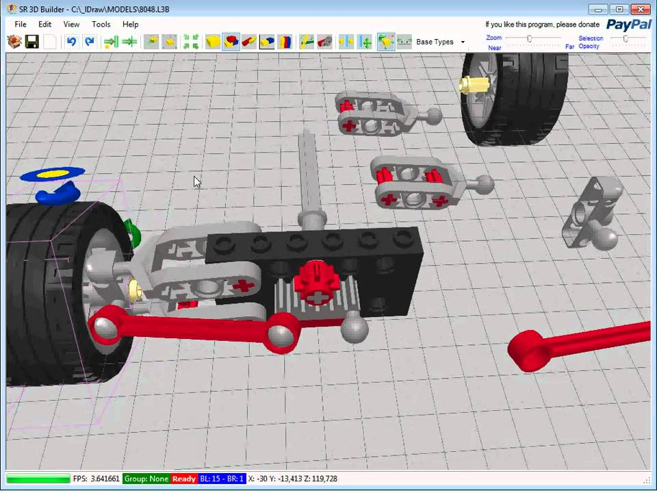Sr 3d Builder Avanced Steering Youtube