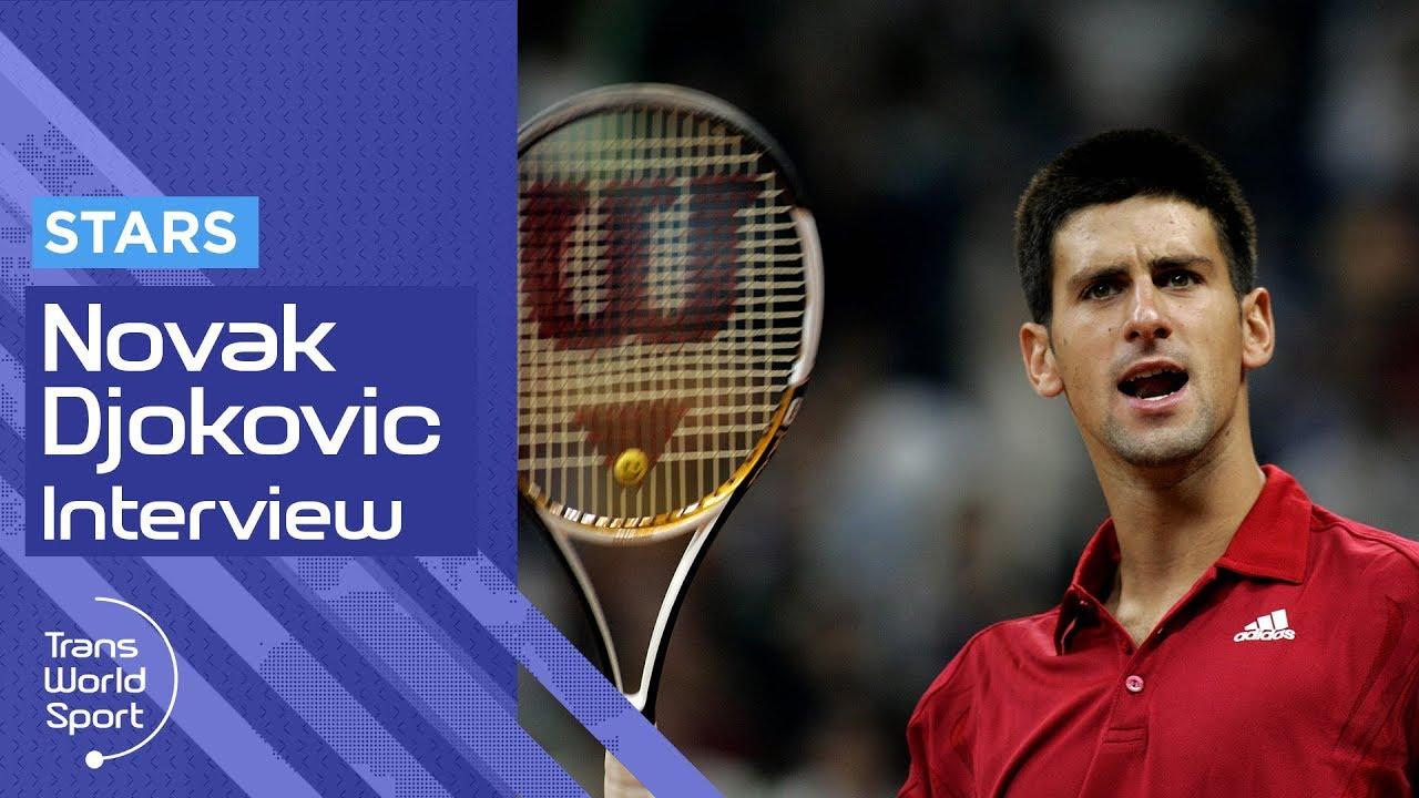 Novak Djokovic 2009 Interview At Home In Monaco Trans World Sport Youtube