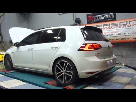 golf 7 gtd reprogrammation moteur dyno youtube. Black Bedroom Furniture Sets. Home Design Ideas
