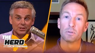 Joel Klatt expands on Colin's CFB proposals, talks Big 10 schedule, who's on the hot seat | THE HERD