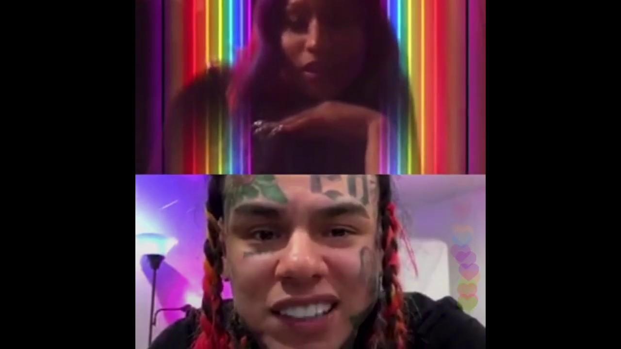 6ix9ine and Nicki Minaj FULL INSTAGRAM LIVE VIDEO