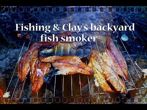 Fishing & Clay's Backyard Fish Smoker.