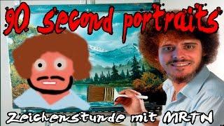 Die hohe Kunst der Malerei | 90 Second Portraits | MRTN (Facecam|Schweizerdeutsch)