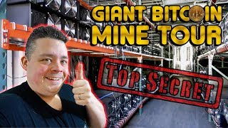 Giant Bitcoin Farm Tour In North America Finally Declassified...