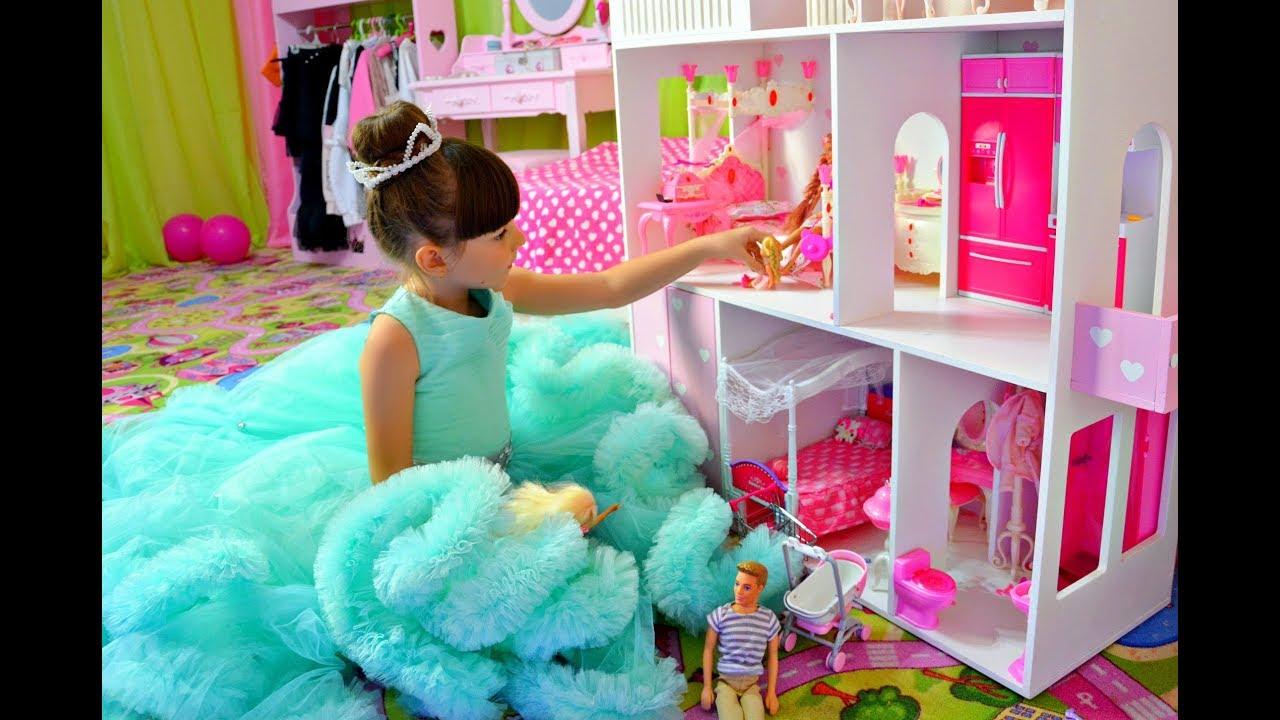 Принцесса и Барби ДОМ МЕЧТЫ ! - YouTube