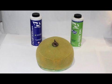 How to Clean & Oil a Dirt Bike Air Filter!