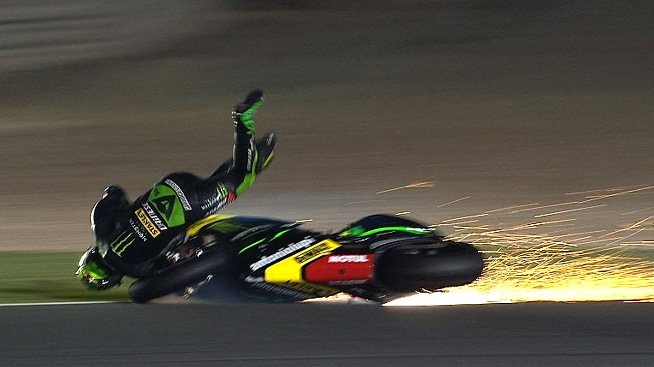 MotoGP™ Qatar 2014 -- Biggest crashes - YouTube