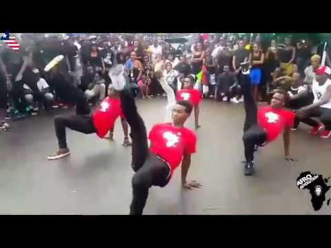 Afro Revolution DANCED in the street of Monrovia Liberia