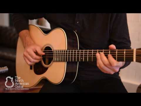 Bourgeois Vintage OM Acoustic Guitar - 'Home' by Adam Miller