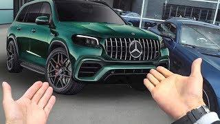 Нашли НОВЫЙ 600 л.с. GLS 63! 290 км/ч В ДОЖДЬ. 421 л.с. новый мотор для Mercedes-AMG A 45. GTC тест.