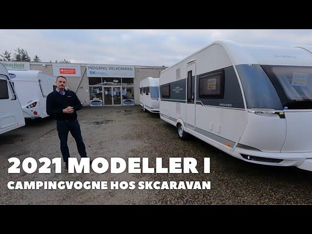 Se de nye campingvogne fra SK Caravan