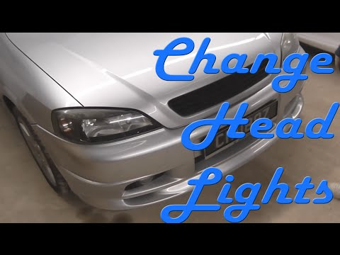 How to Change Headlights (Astra)