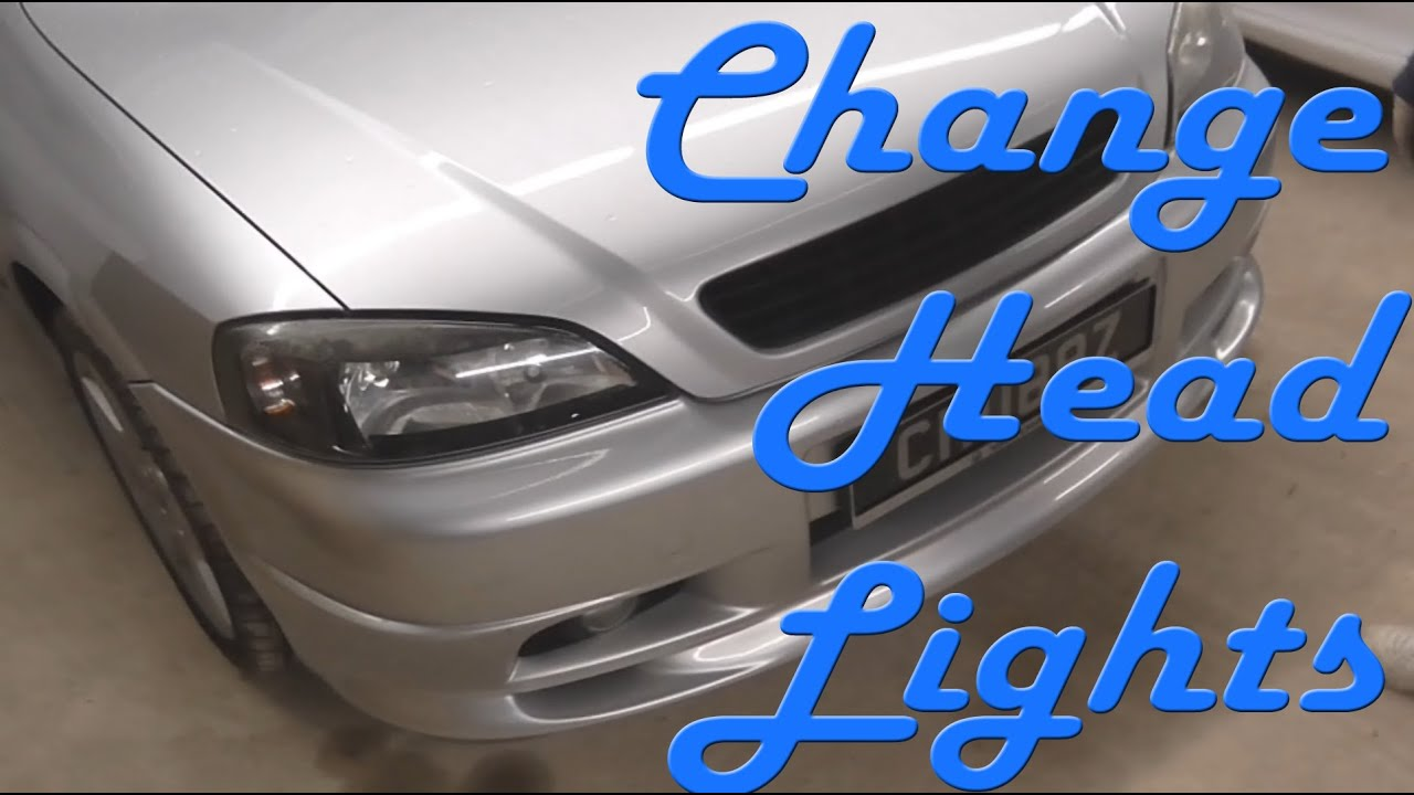 How to Change Headlights (Astra) - YouTube