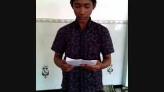 Atur Pambagyo Harjo Terbaik,SMK N 2 Magelang,,Contoh Pambagyo Harjo,Sesorah Pidhato Jawa