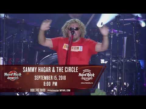 Sammy Hagar - September 15
