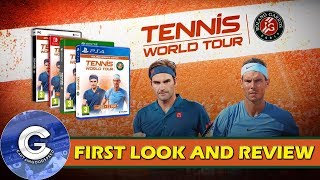 'BRAND NEW' TENNIS GAME | Tennis World Tour Roland Garros Edition (PS4/XBOX ONE) | First Look/Review