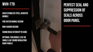 WEIDER - WVH-779 Acoustic Air Tight Sound Insulation Sound Proof Handle