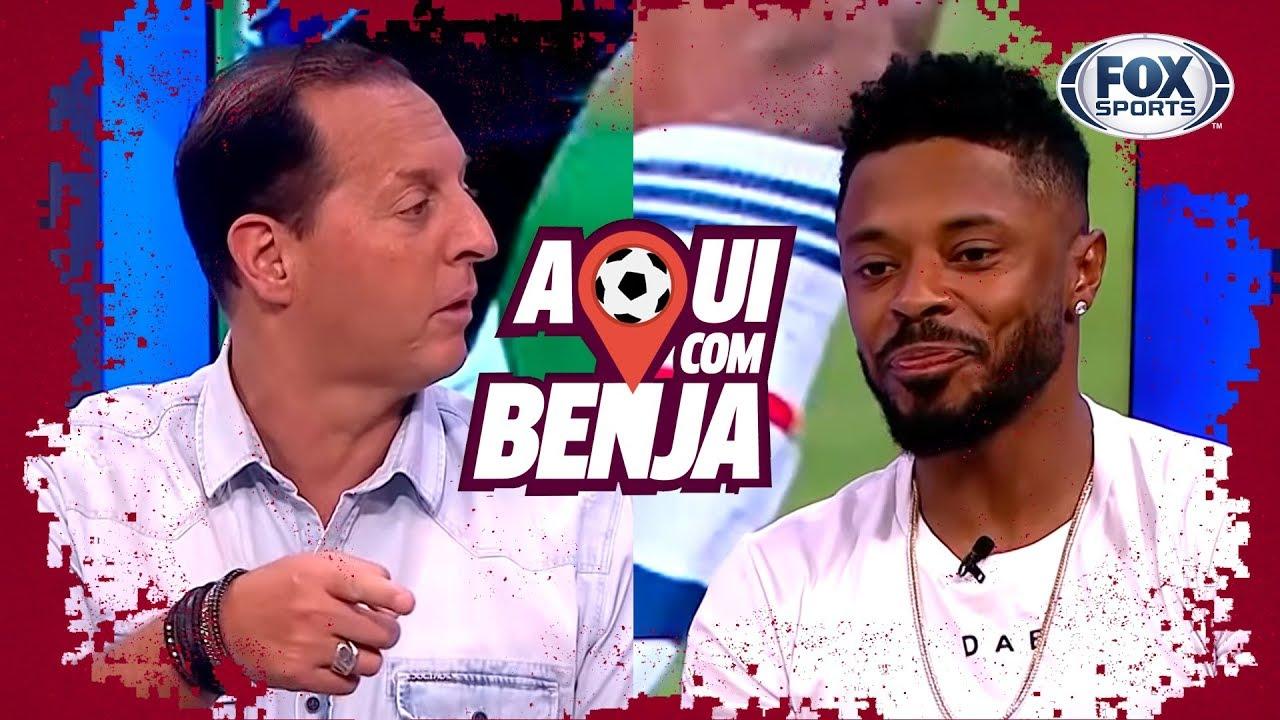 Michel Bastos se aposenta do futebol no 'Aqui Com Benja!' - Programa Completo