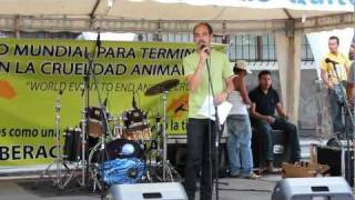 Evento Mundial para terminar la crueldad animal DVA 08-10-2011
