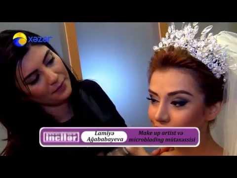 Lamiye Agababayeva Make up artist ve microblading mutexessisi