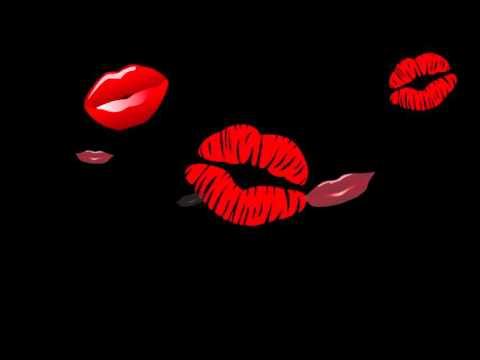 Футаж Губы поцелуй