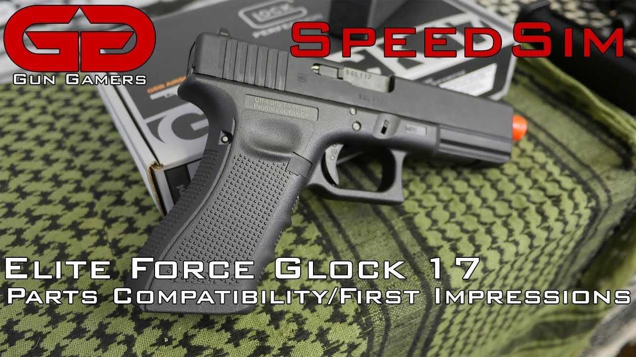 SpeedSim: Elite Force Glock 17 Parts Compatibility and First Impressions