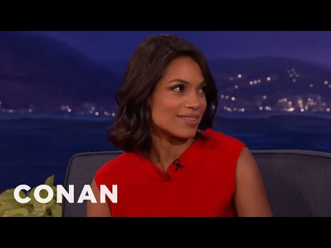 Rosario Dawson Wants To Mug New Yorkers   CONAN on TBS