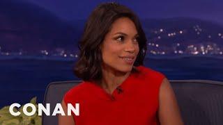 Rosario Dawson Wants To Mug New Yorkers  - CONAN on TBS
