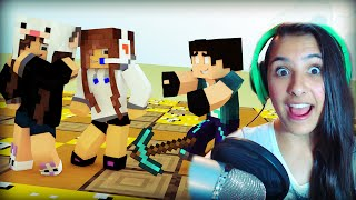 Minecraft: CUBÃO DE LUCKY BLOCK - MULHERES! ft. Rezende e Pokey