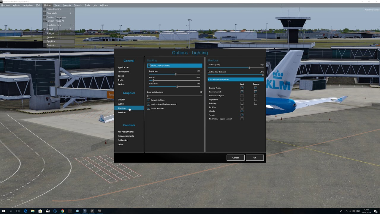 P3D V4 settings and addons I use