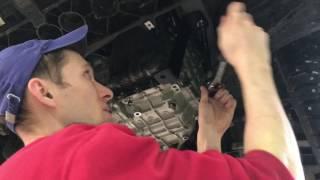 Установка защиты картера двигателя Kia Sportage IV в Шериф Авто