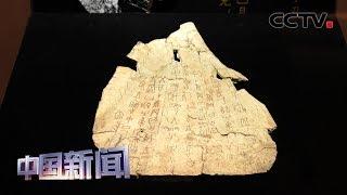 [中国新闻] 国博最大甲骨文文化展启幕   CCTV中文国际