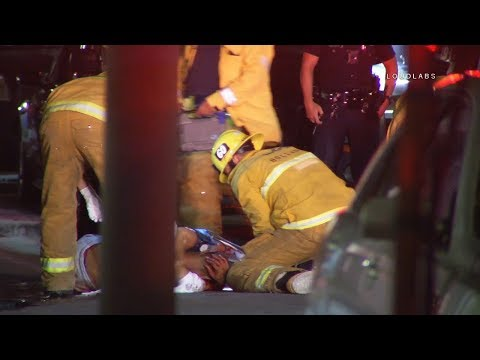 Double Fatal Shooting /  North Hollywood   RAW FOOTAGE